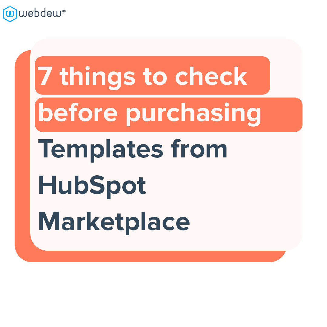 1 - 7 things to check before purchasing