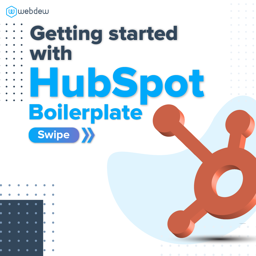 1- getting started with HubSpot boilerplate