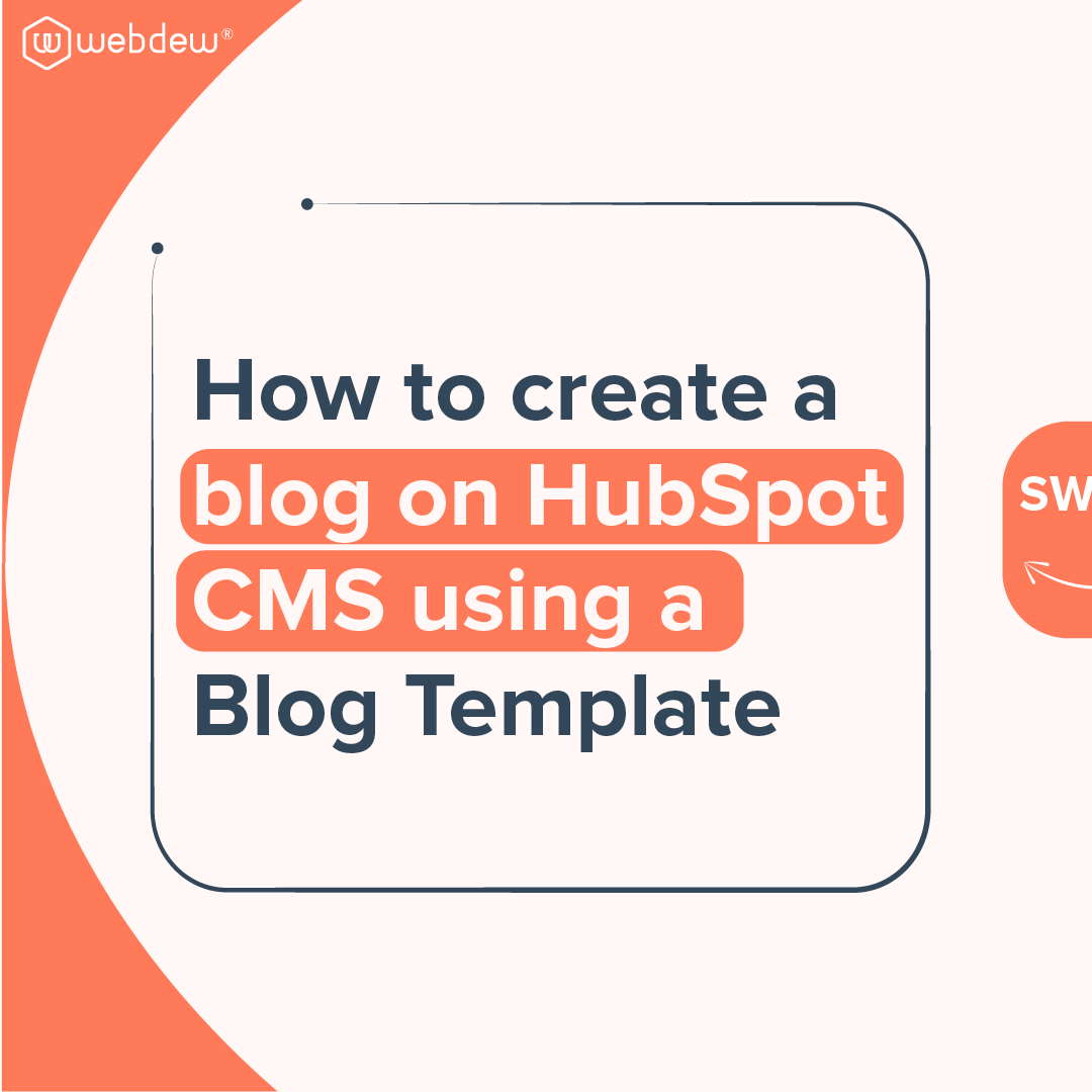 1- how to create a blog on HubSpot cms using a blog template