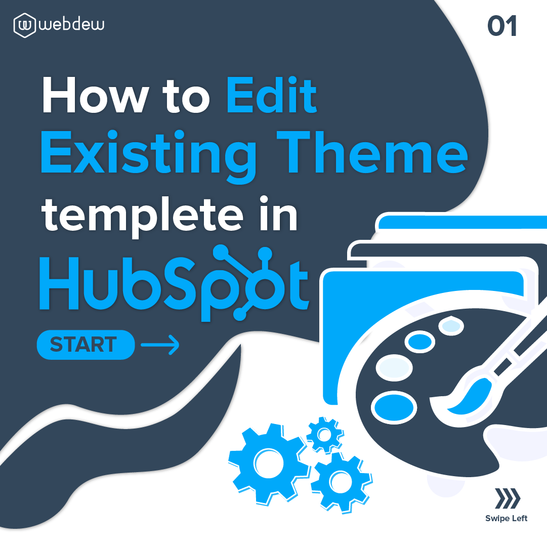 1- how to edit existing theme template in hubspot