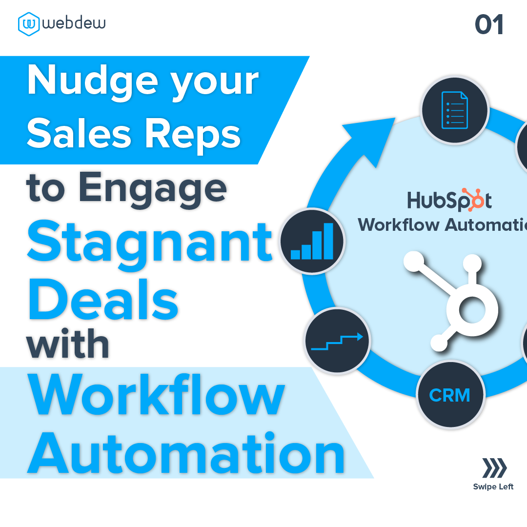 1- nudge your sales with workflow automation