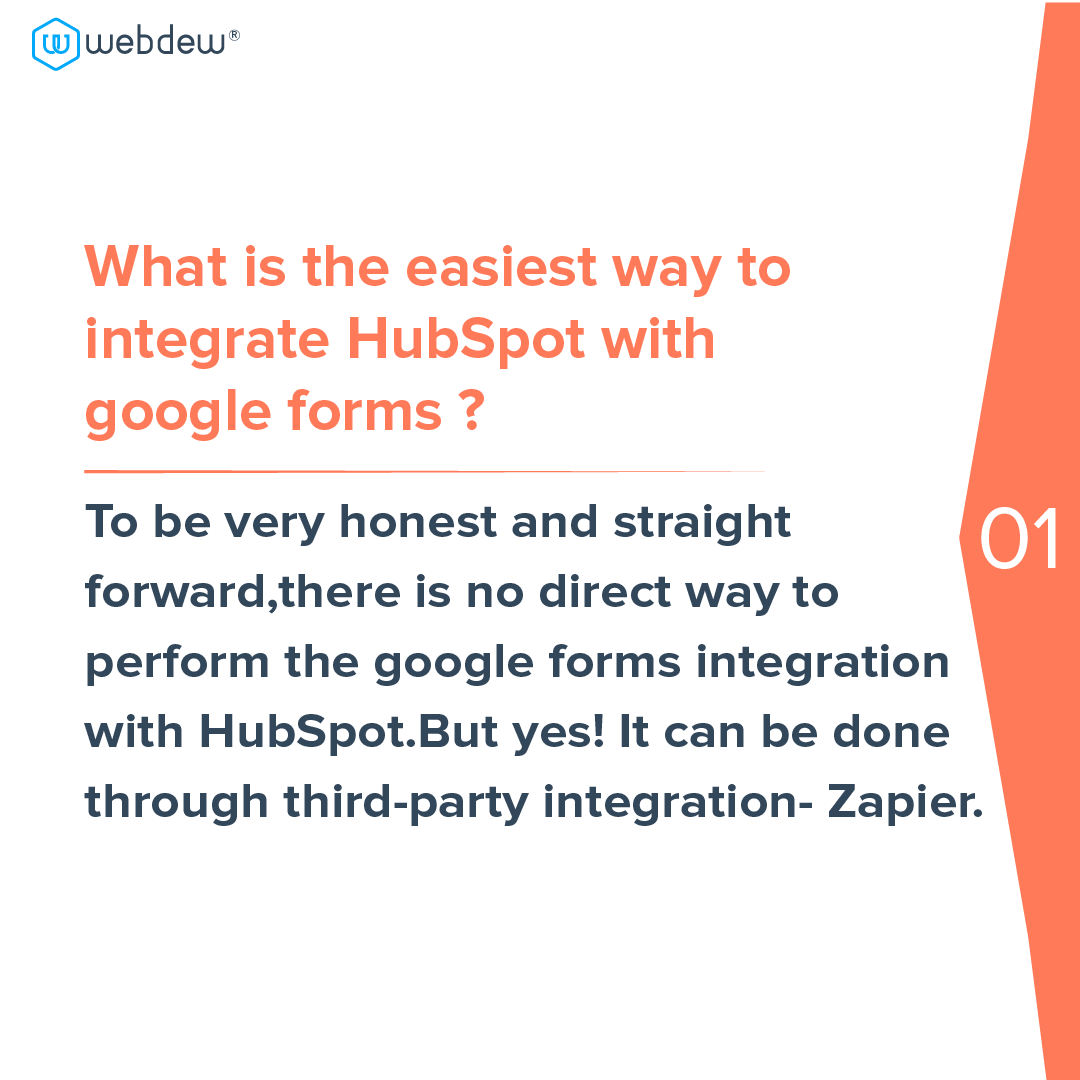 2- easiest way to integrate HubSpot with google forms