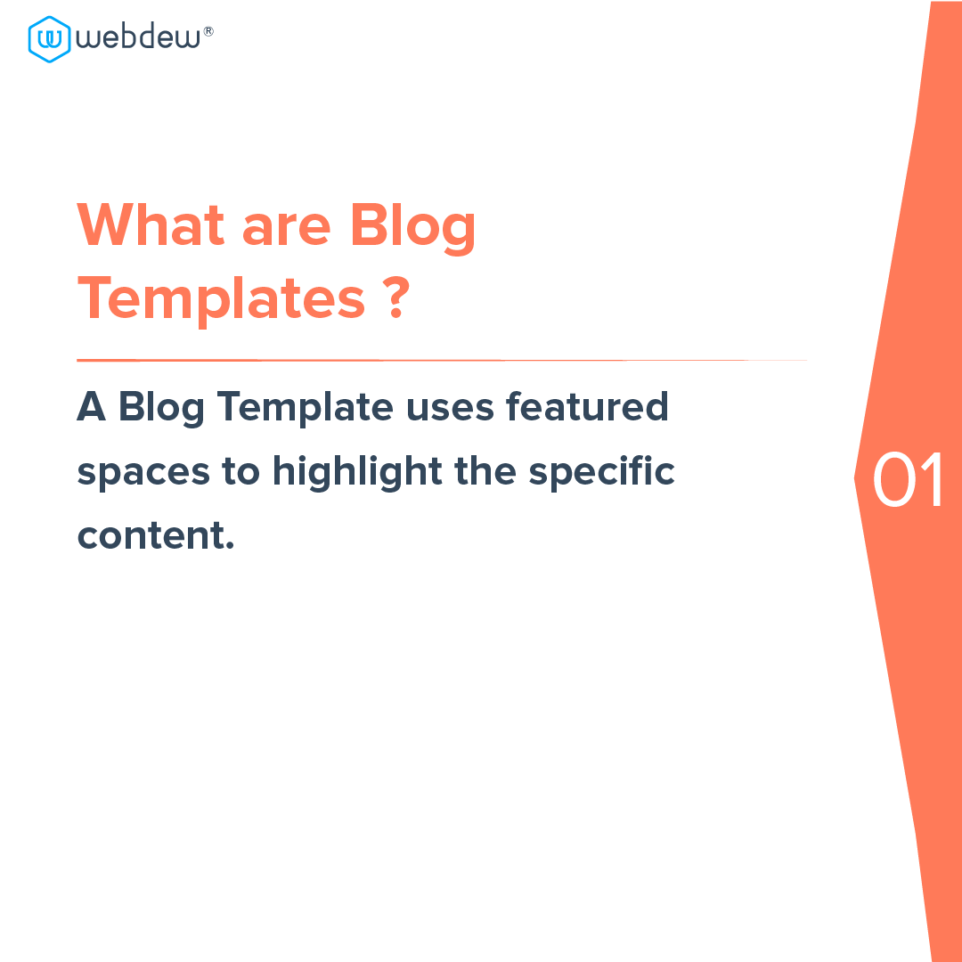 2- what are blog templates