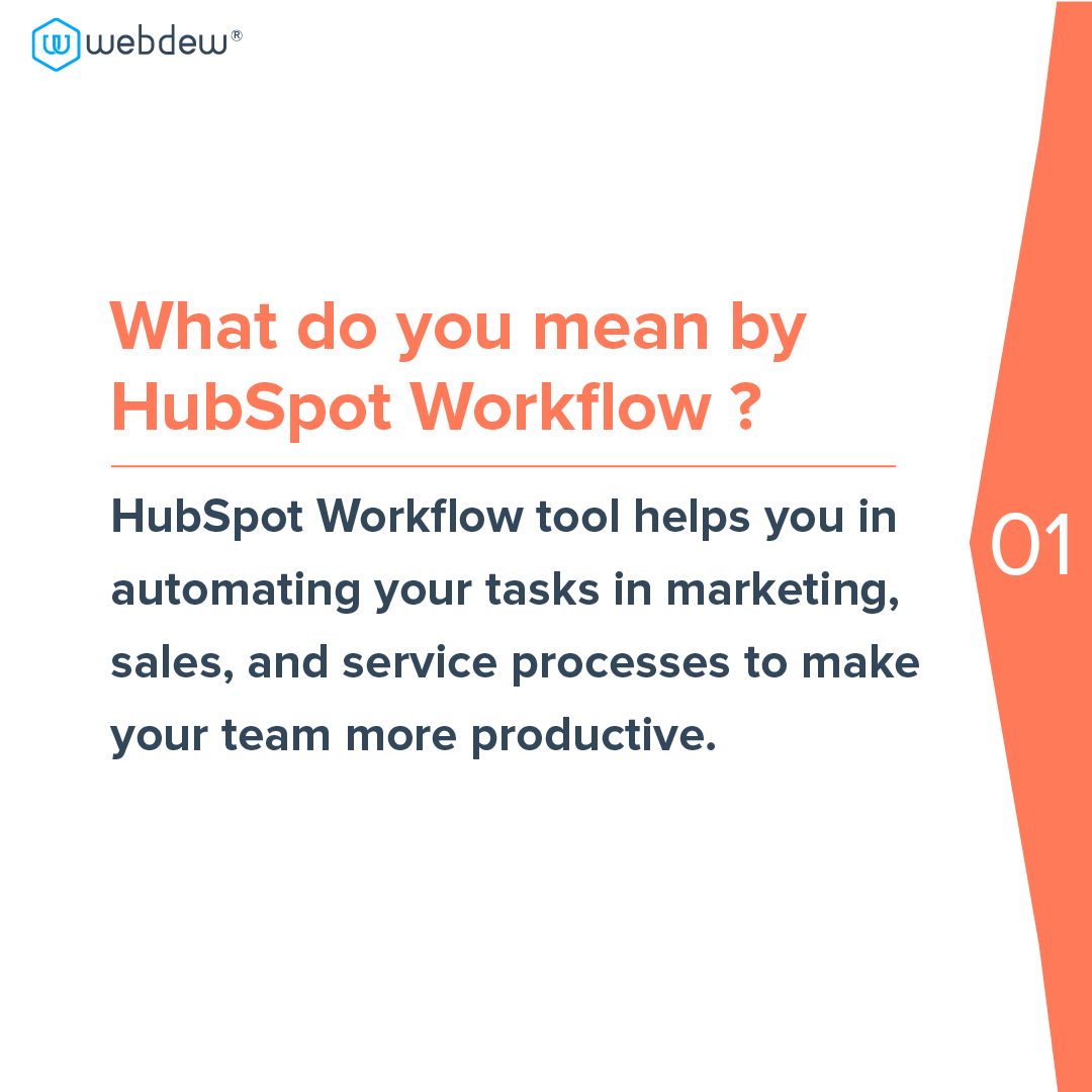 2- what do you mean by HubSpot workflow