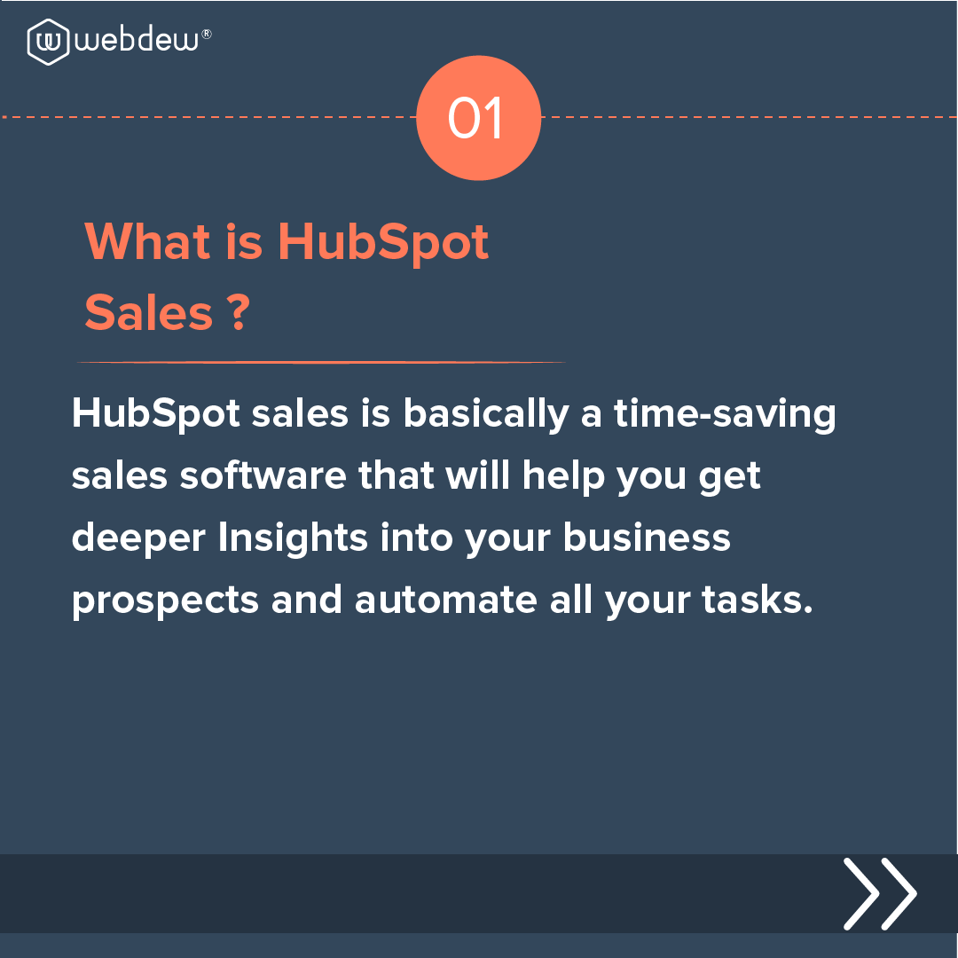 2- what is HubSpot sales