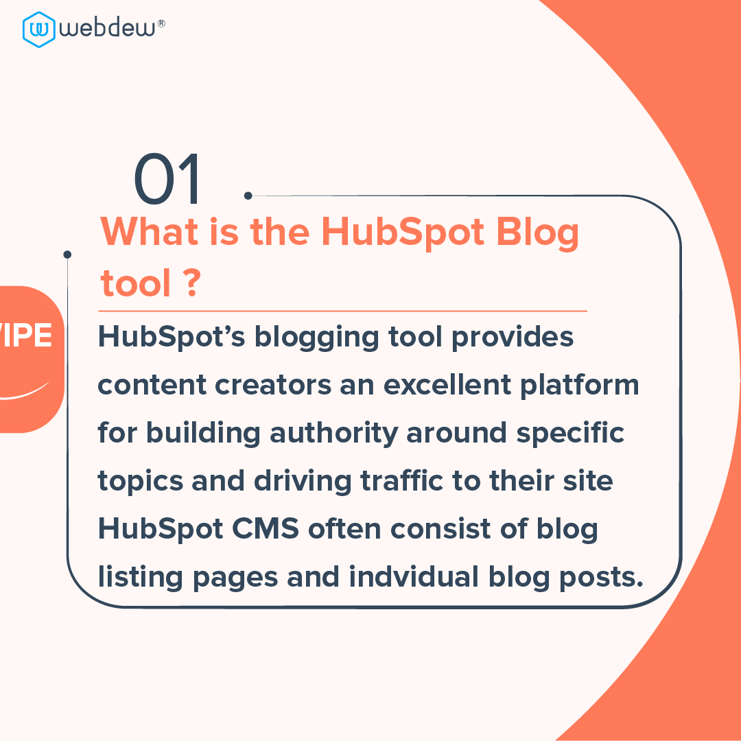 2- what is the HubSpot blog tool