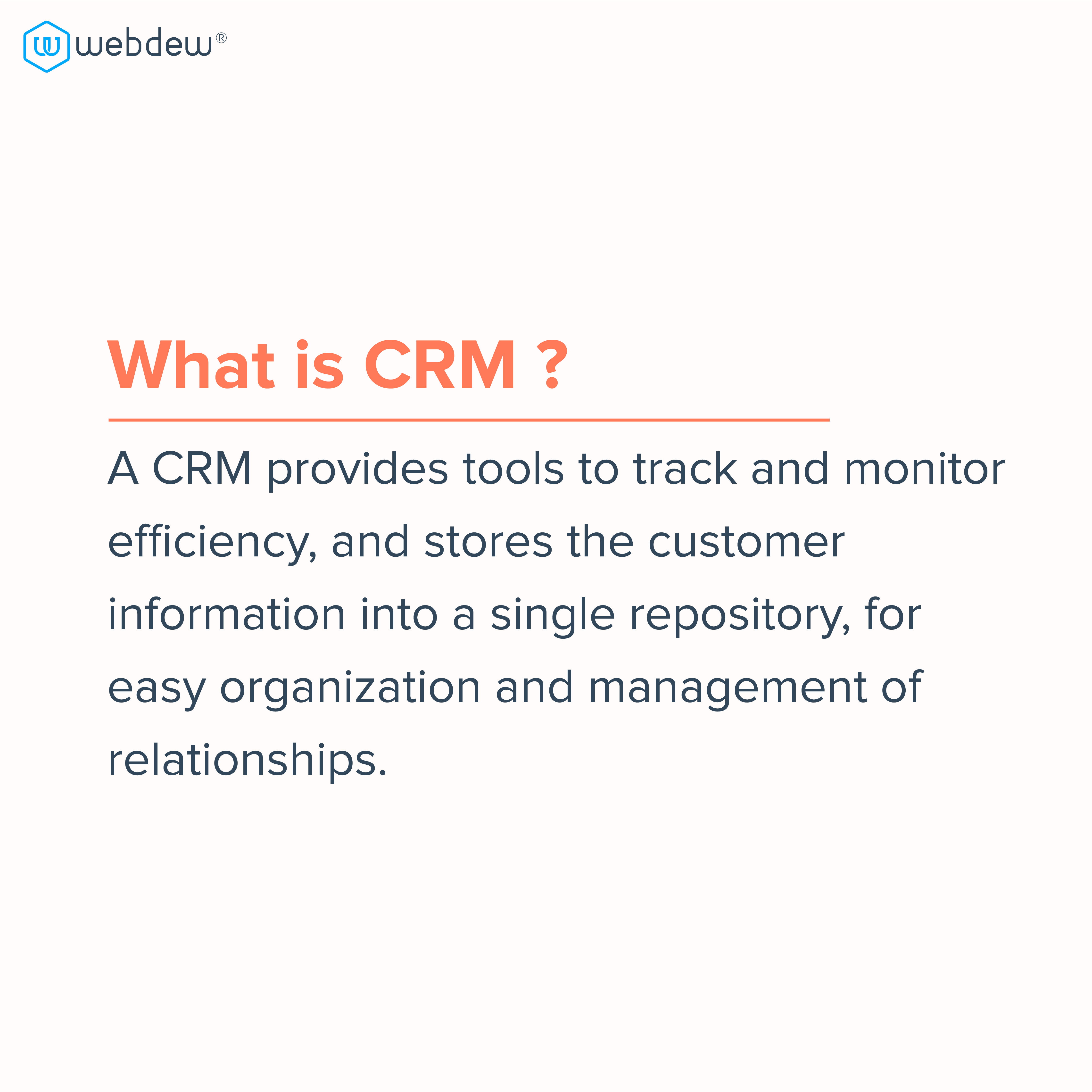 2. what is CRM