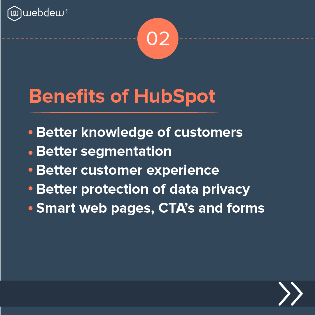 3- benefits of HubSpot