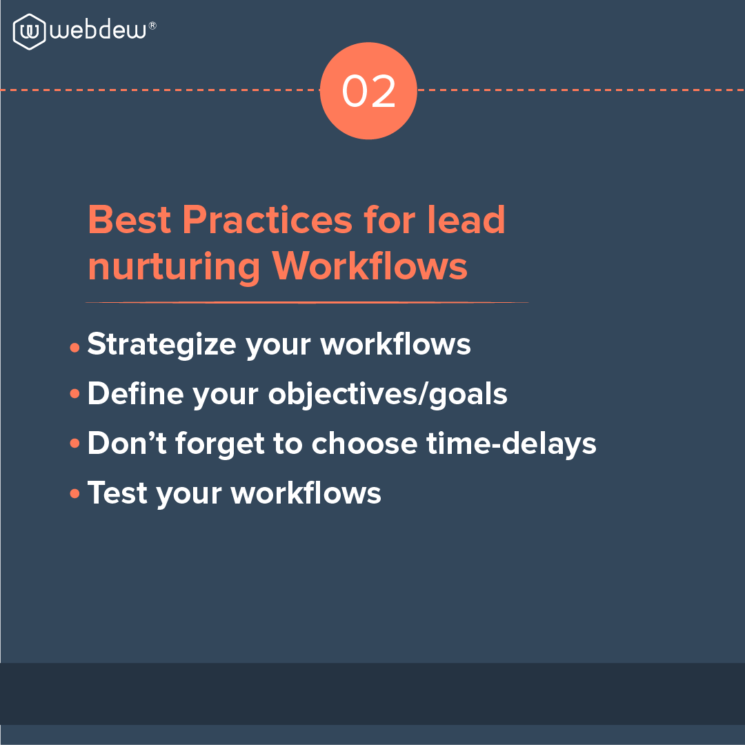 3- best practices for lead nurturing by workflows