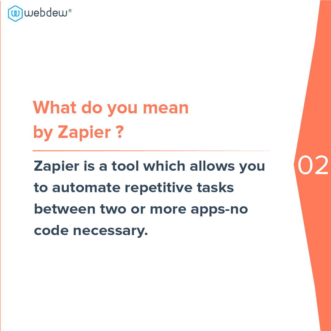 3- what do you mean by zapier
