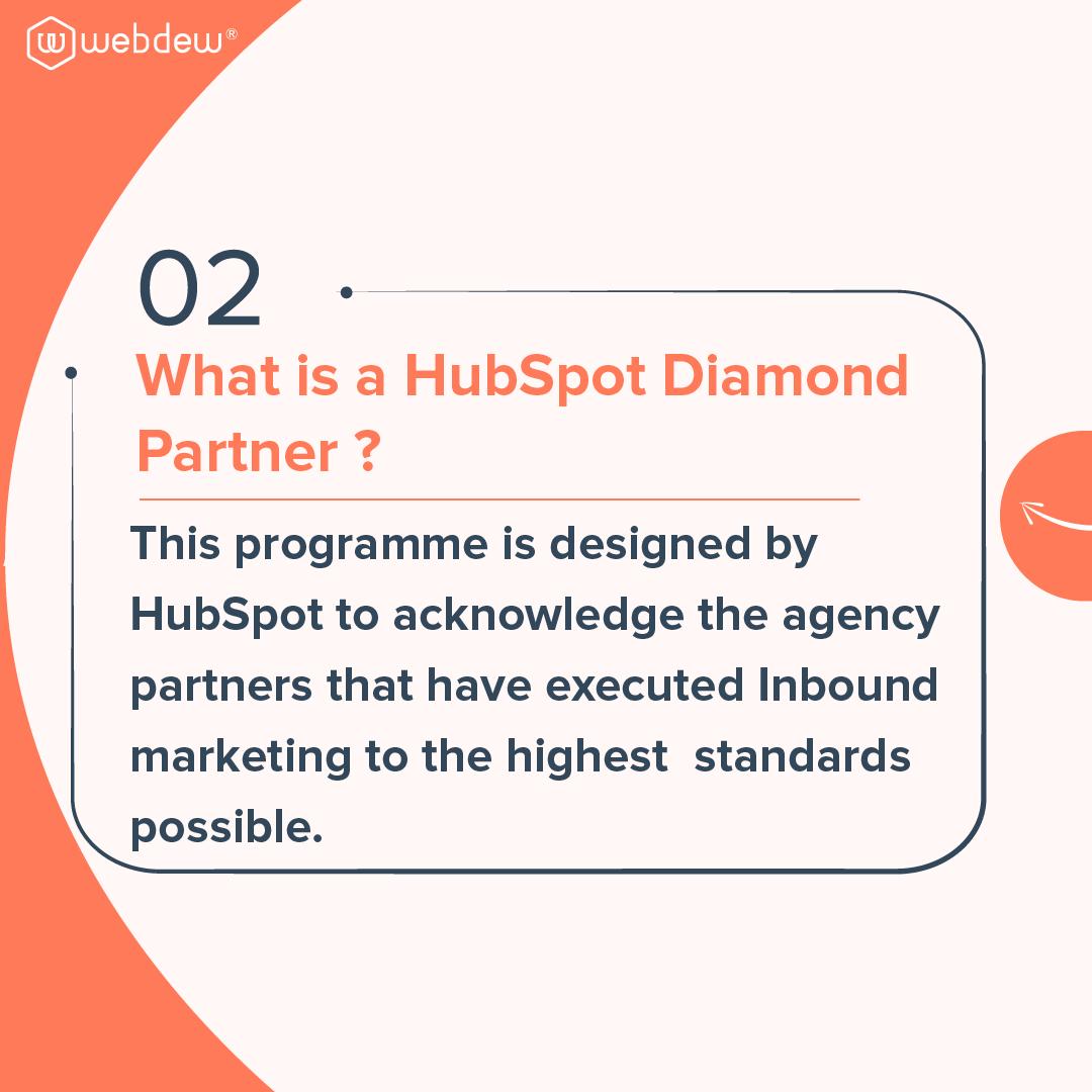 3- what is a HubSpot diamond partner