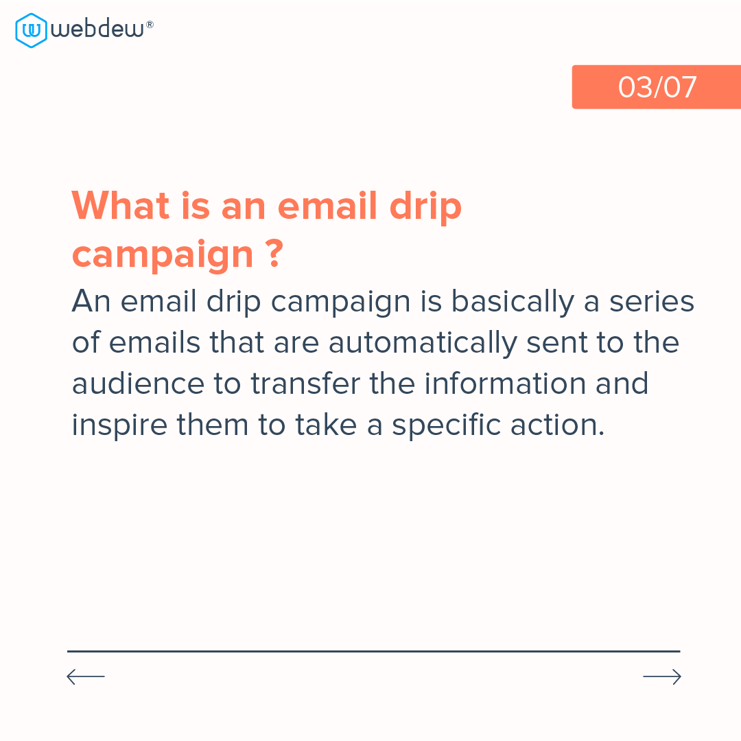 3- what is an email drip campaign