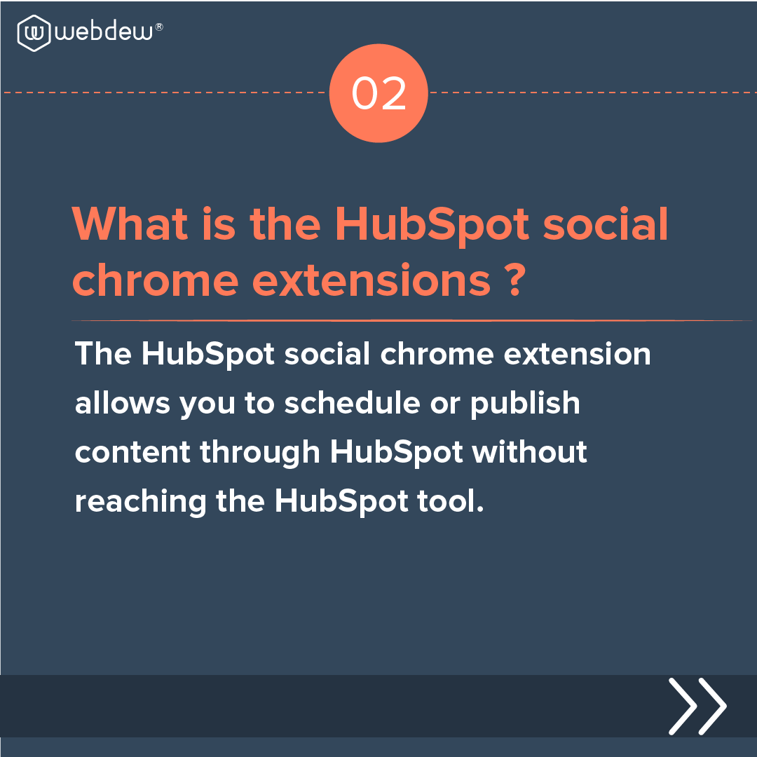3- what is the HubSpot sales chrome extension