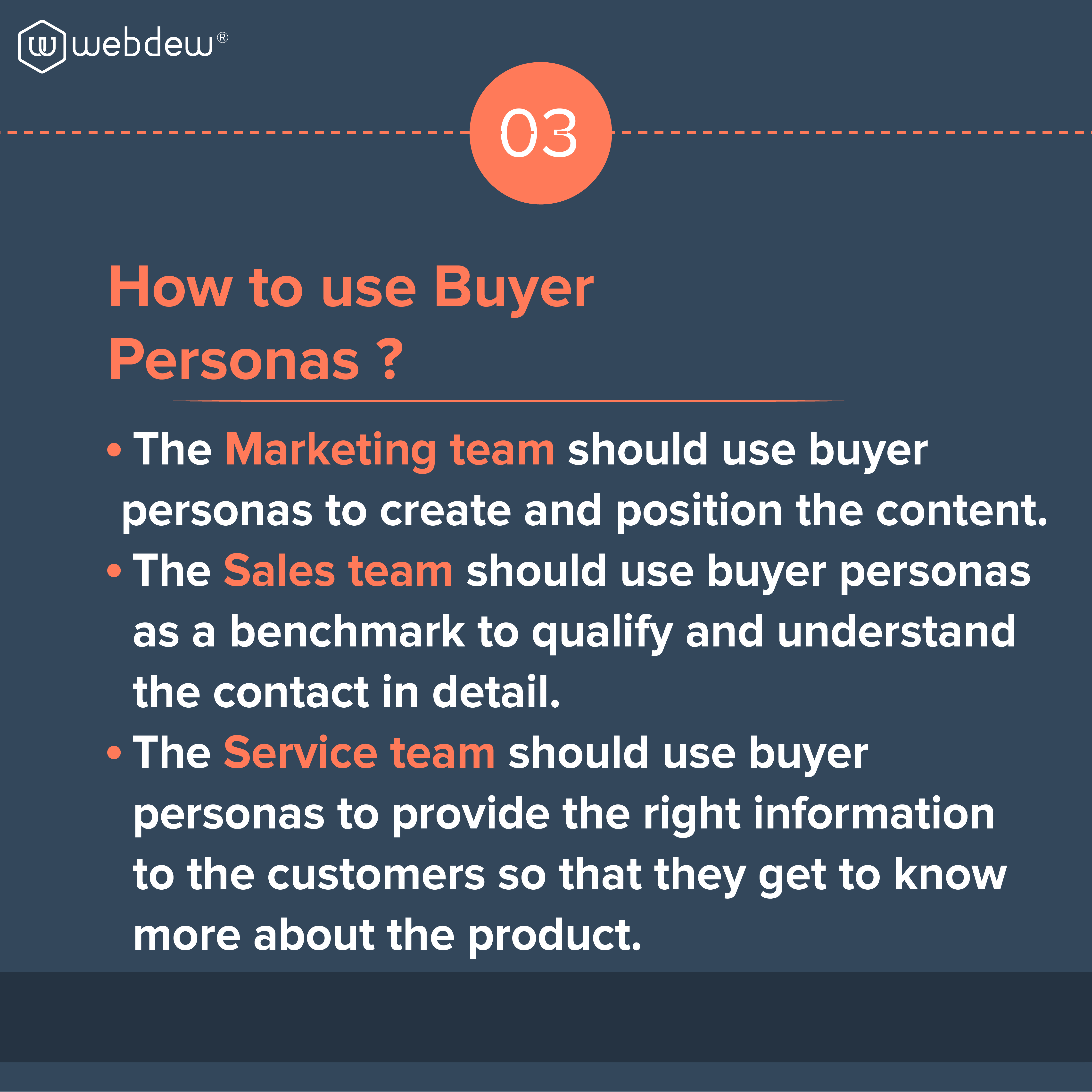 3. how to use buyer persona