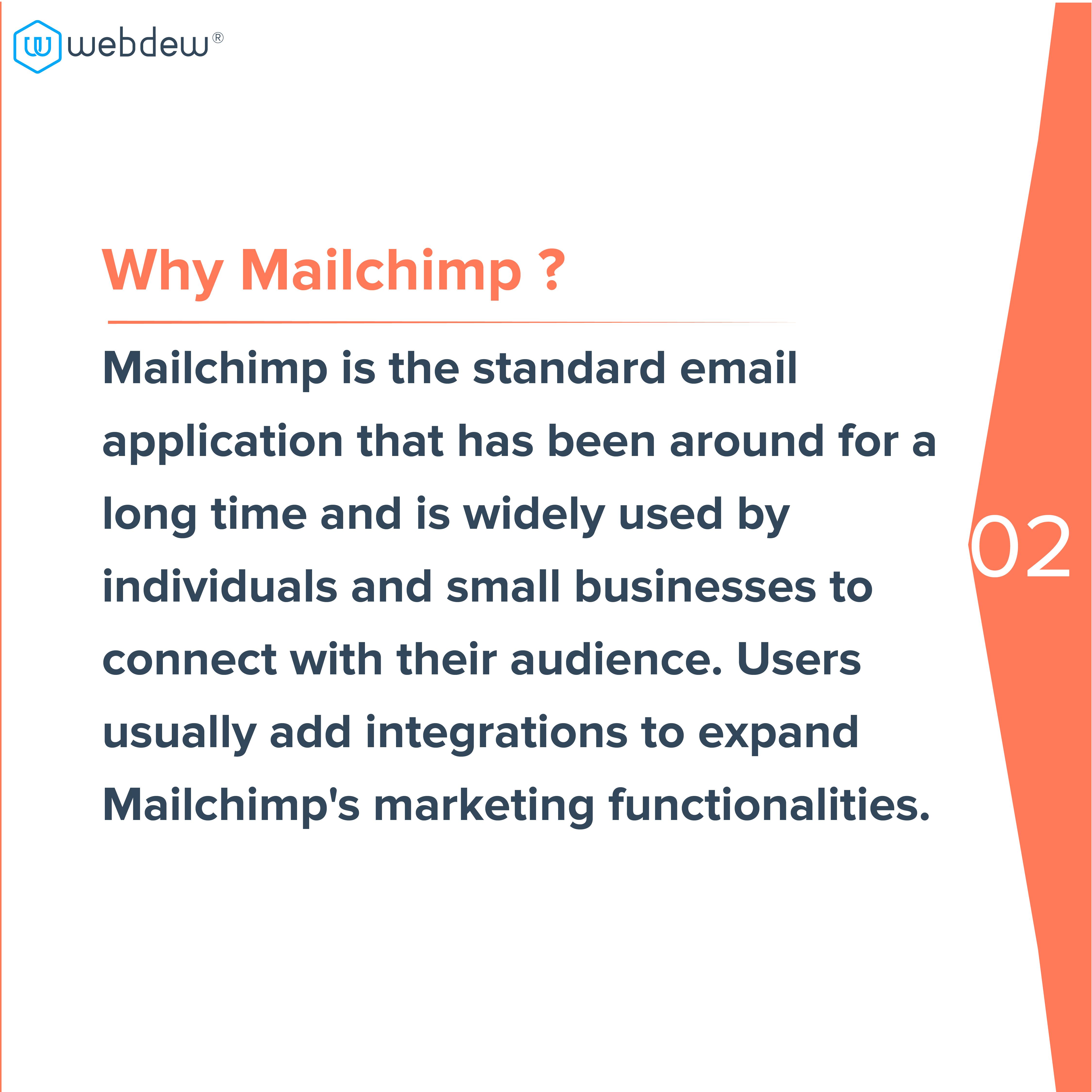 3. why mailchimp