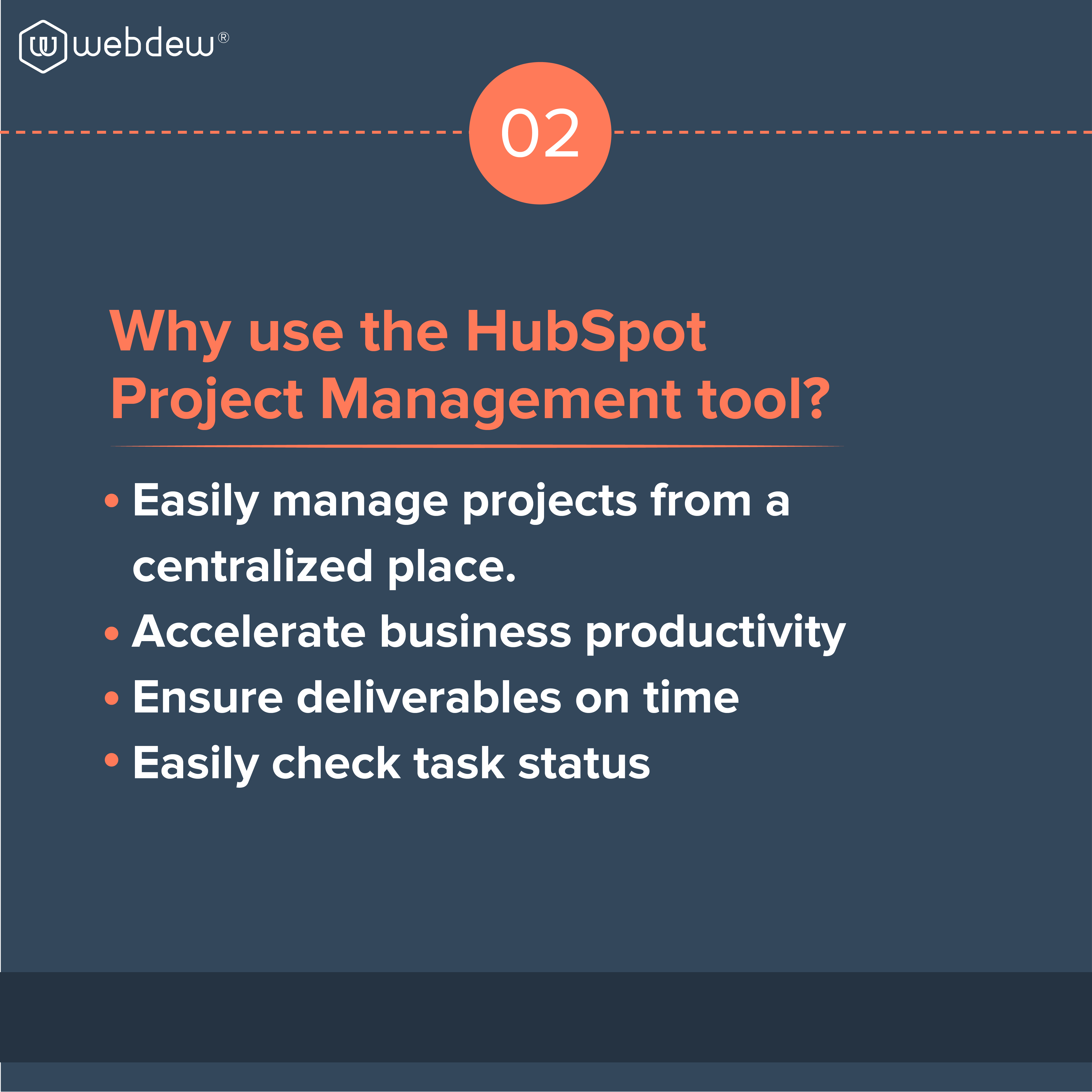 3. why use the hubspot project management tool