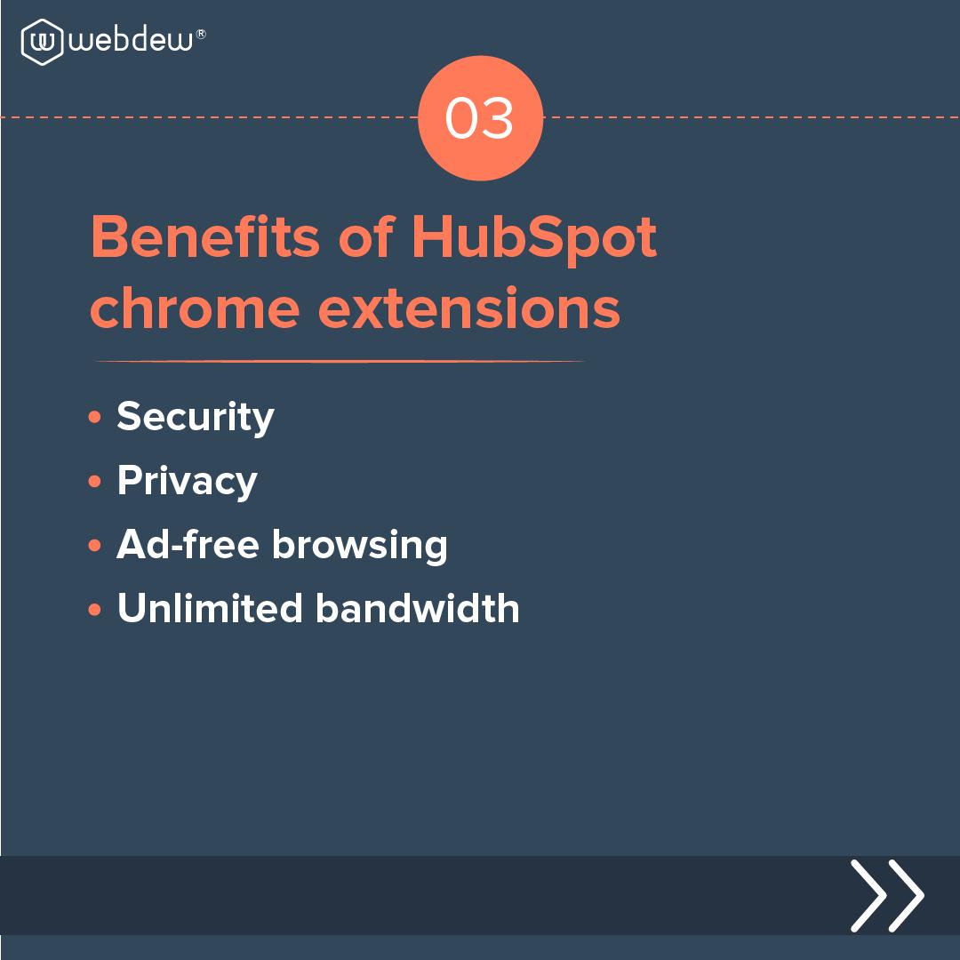 4- benefits of HubSpot chrome extension