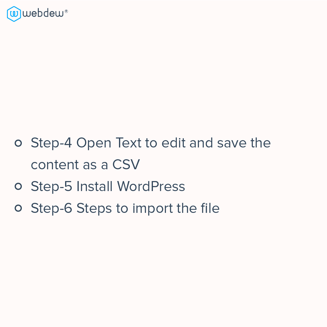 4- blog migration steps from HUbSpot to wordpress