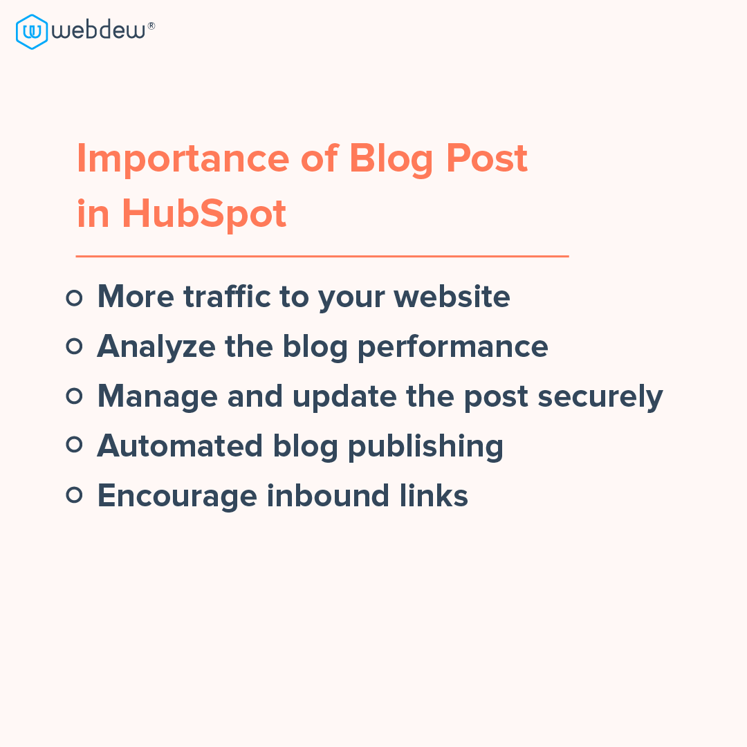 4- importance of blog post in HubSpot