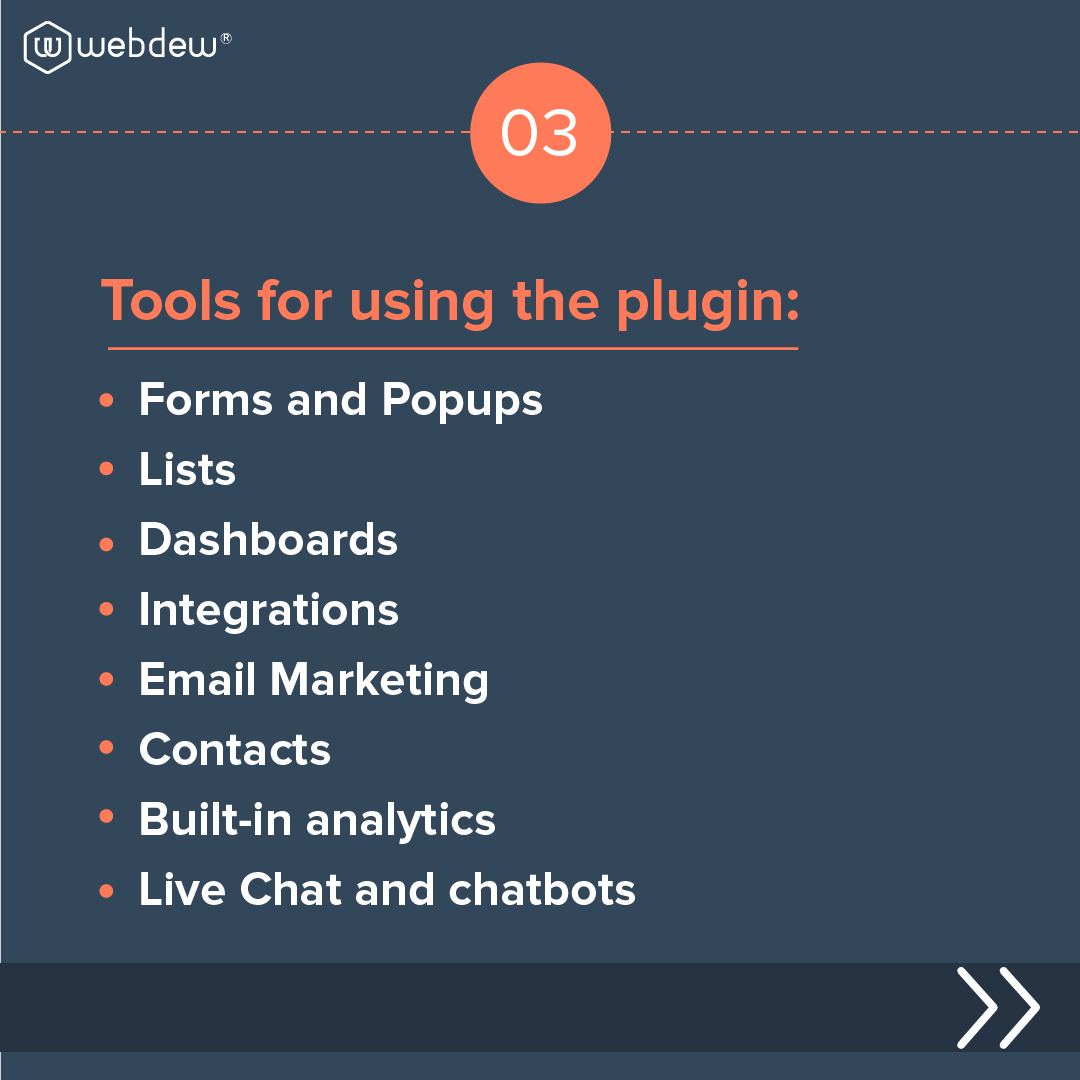 4- tools for using the plugin