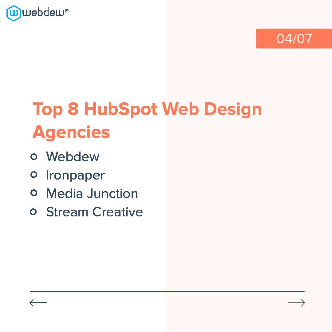 4- top 8 HubSpot web design agencies