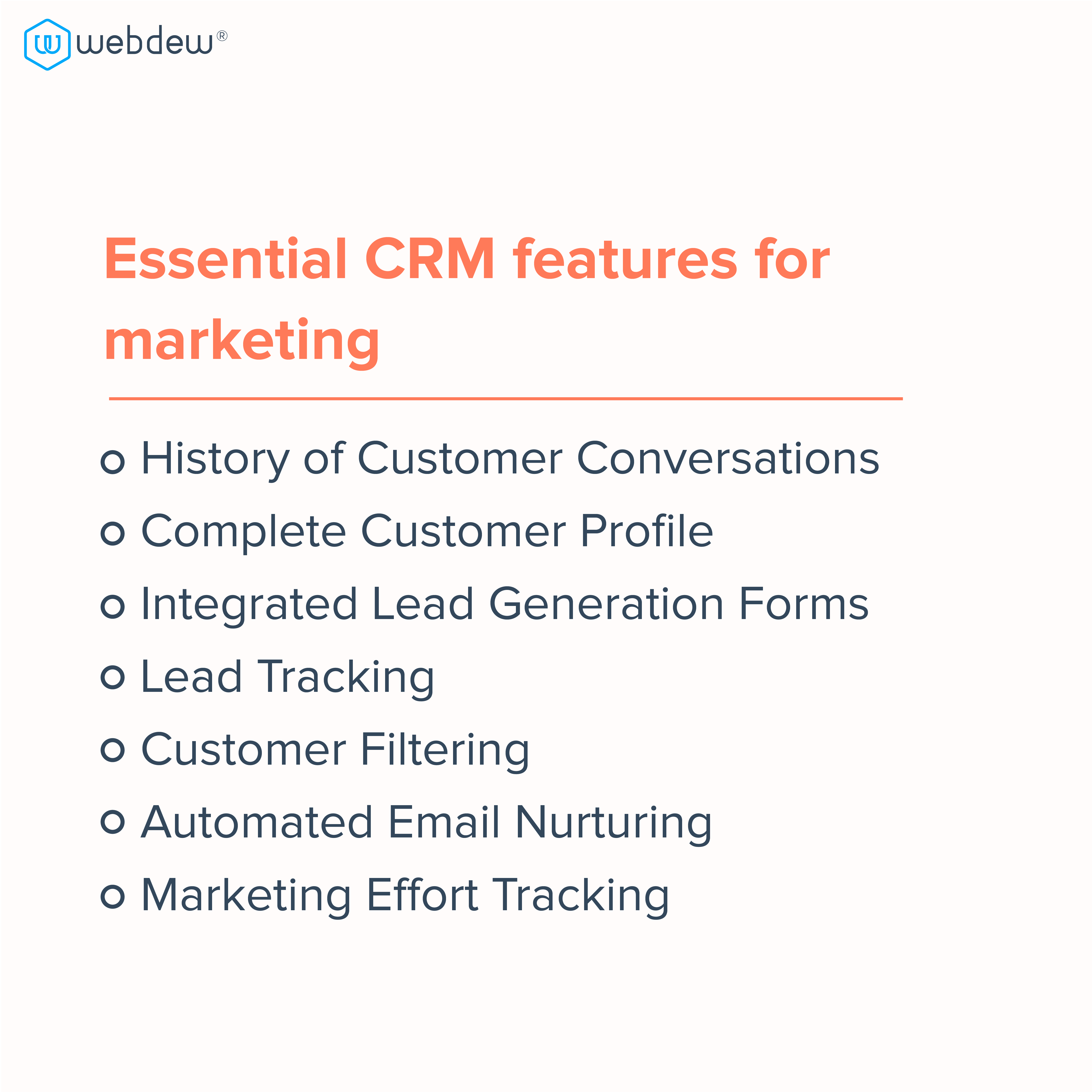 4-7 essential CRM features marketers should look for 2021-05