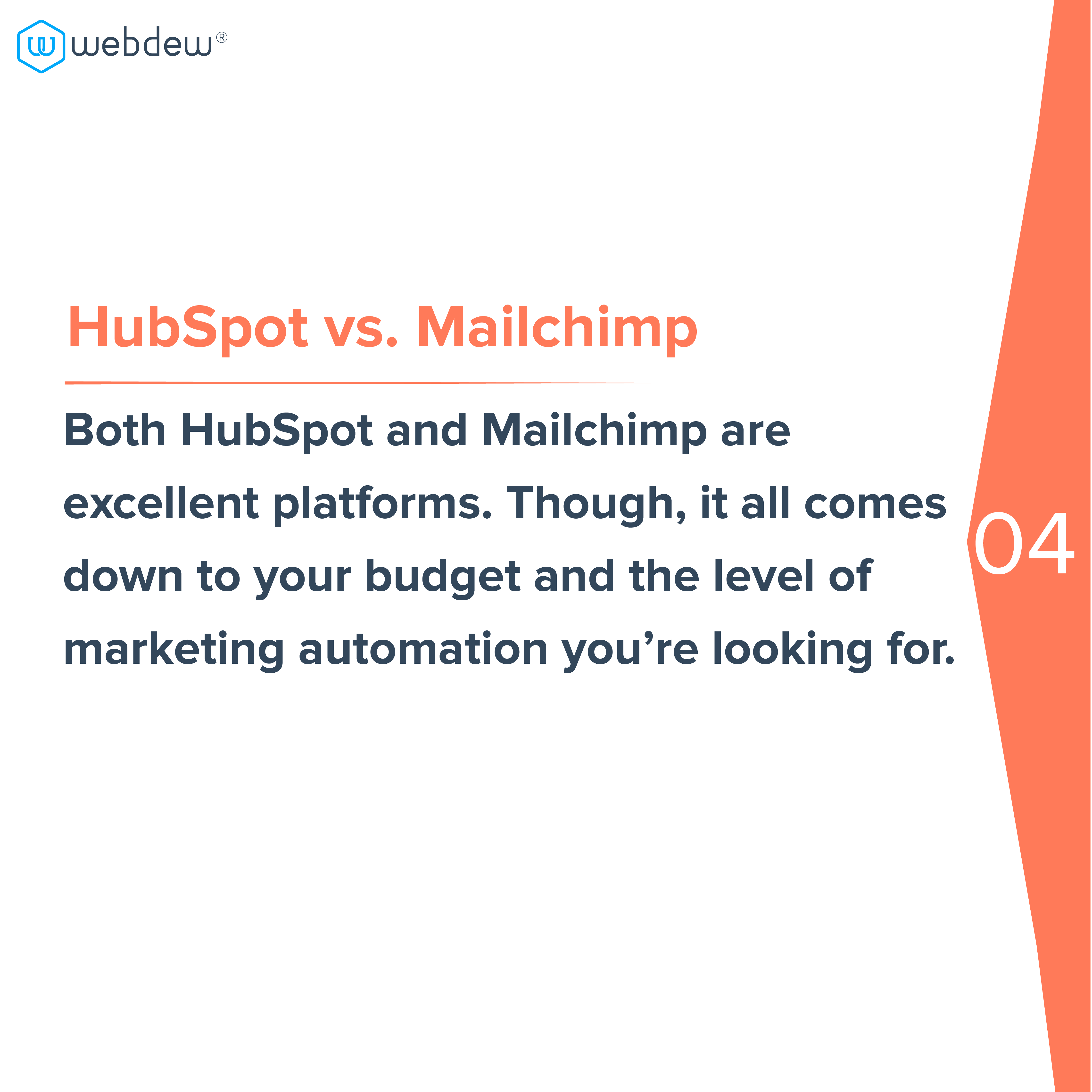 5. hubspot vs mailchimp