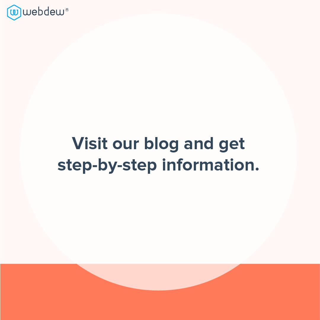6- visit our blog