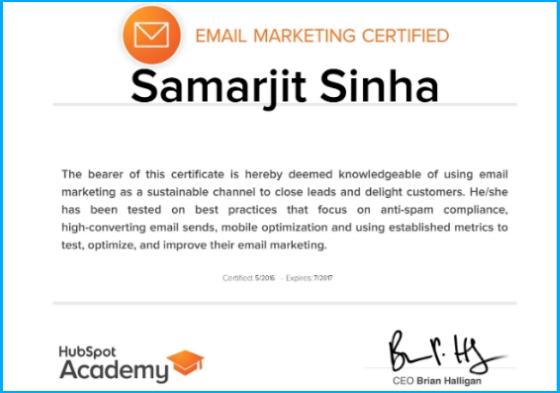 HubSpot-Certification-Samarjit-Sinha