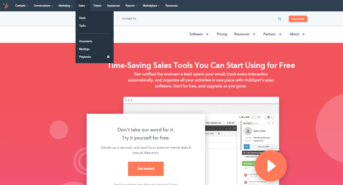Hubspot Sales Automation