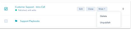 Hubspot Sales Edit Buttons