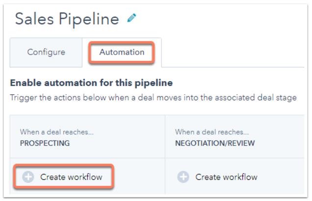 Hubspot Sales Workflow Button