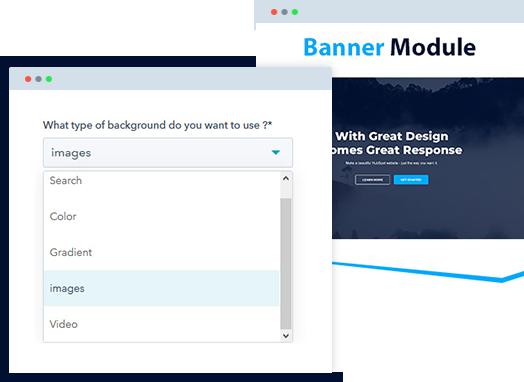 HubSpot Banner Module