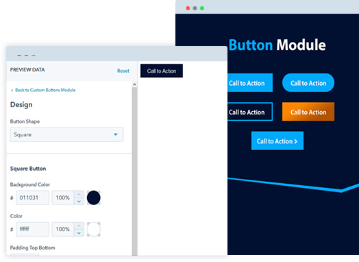 HubSpot Button Module