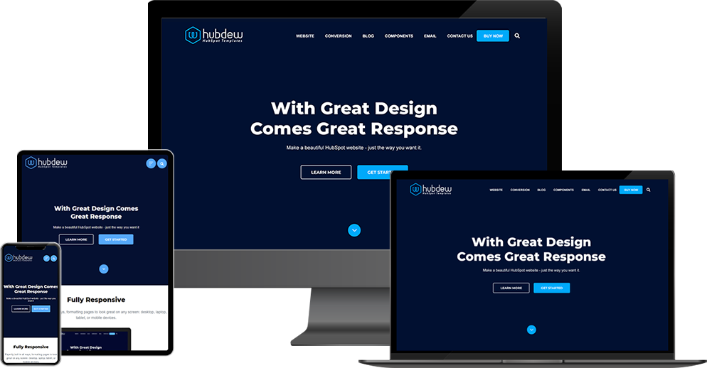 Hubspot Fully Responsive Templates
