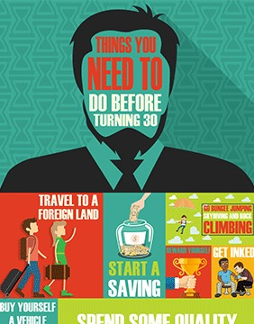 Webdew Design Portfolio - Things to do before turning 30