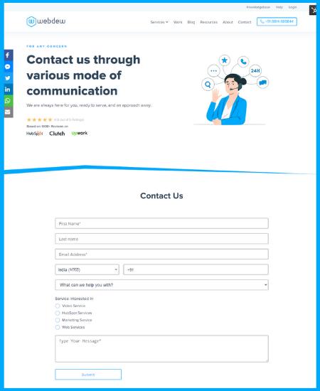 Webdew_contact
