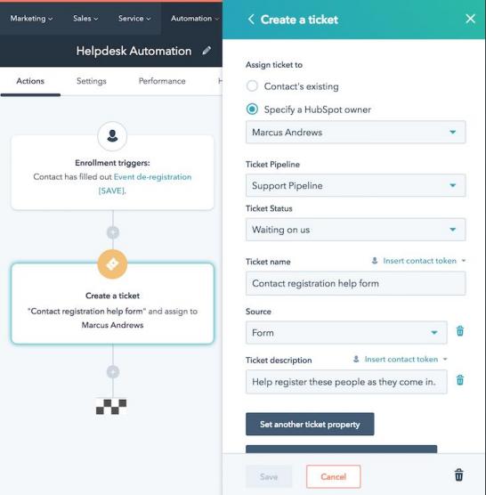 Alternatives to HubSpot CRM - Workflows