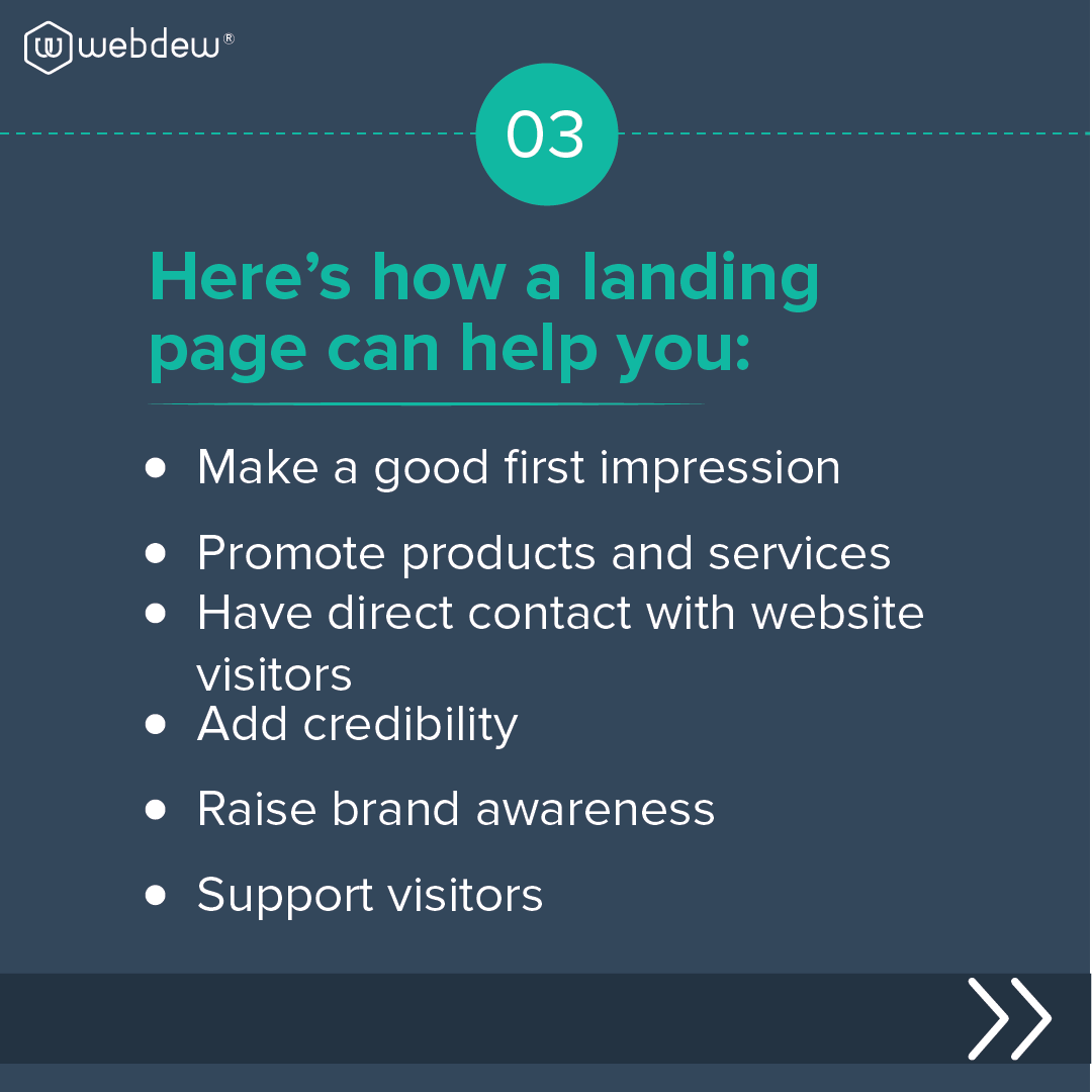 benefits-of-a-landing-page