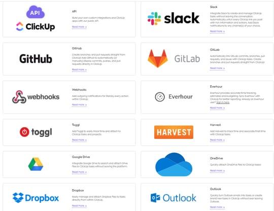 clickup-integrations