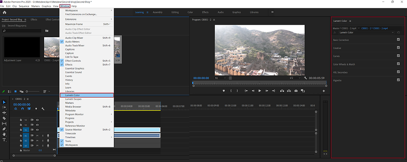 color-correcting-the-footage