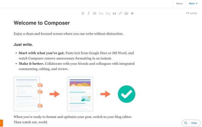 Composer - HubSpot