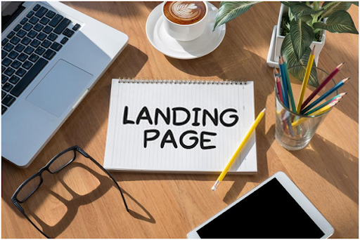Create wordpress landing page