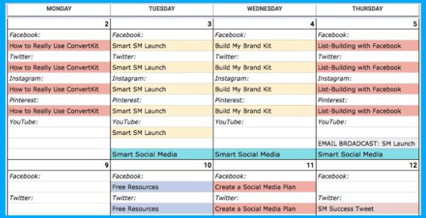 Create a Long-Term Content Calendar