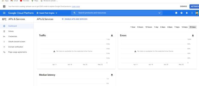 create google client id