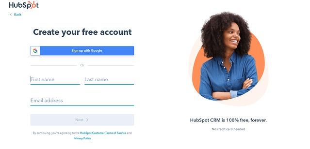 create-hubspot-account