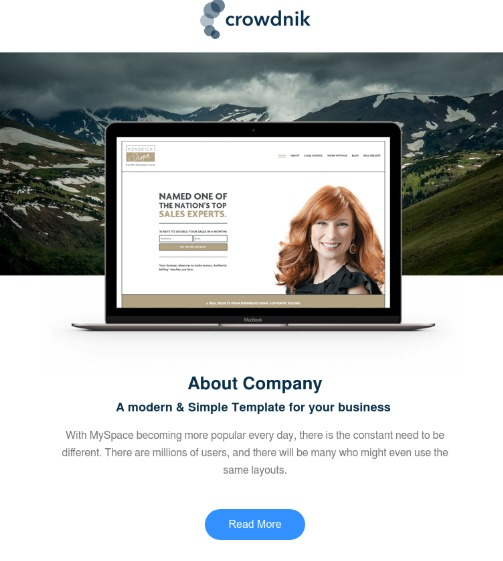 crowdnik-hubspot-email-template