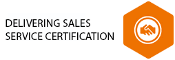 Delivering Sales Service Certification