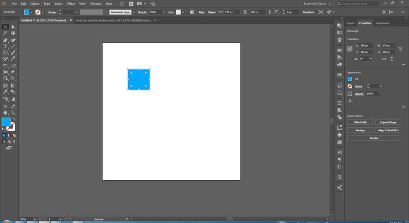 draw-a-rectangle-shape