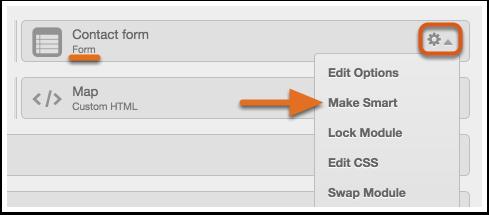 Edit and Publish Smart Form